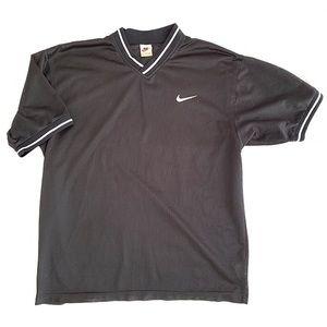 Vintage 90s Nike Mesh Soccer Shirt Jersey - L